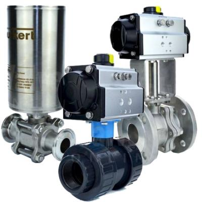 VO - All Pneumatic Actuated Ball Valves