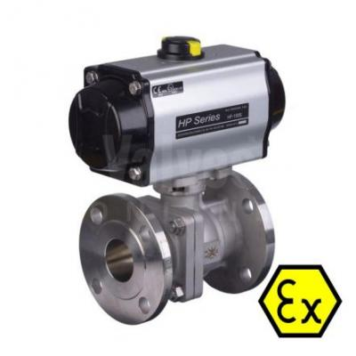 VO - ATEX Approved Pneumatic Actuated Ball Valves