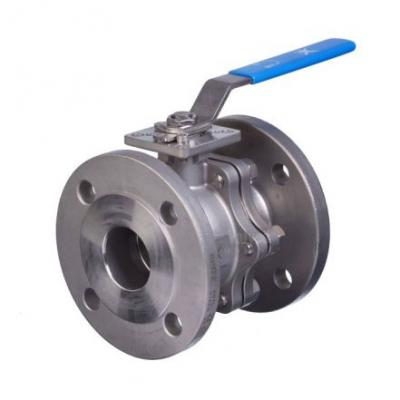 Flanged Stainless Steel Ball Valves
