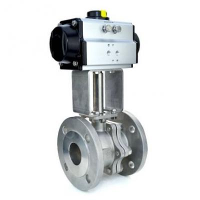 VO - Flanged Pneumatic Actuated Ball Valves