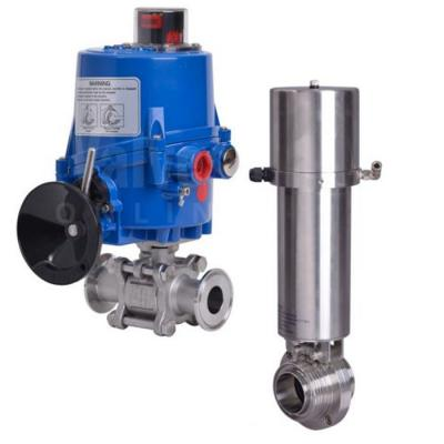 Actuated Hygienic Valves