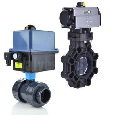 Actuated Plastic Valves