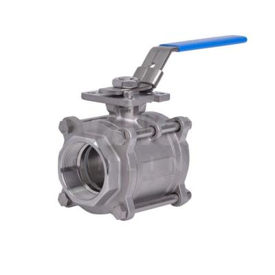 Screwed Stainless Steel Ball Valves