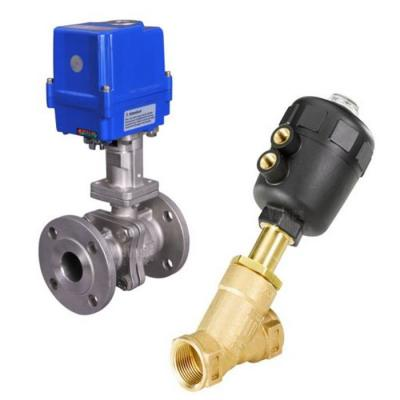 Actuated Steam Valves