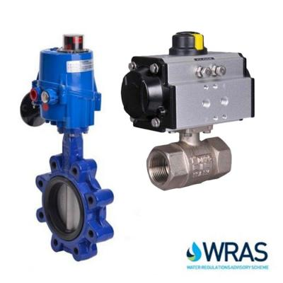 WRAS Approved Actuated Valves