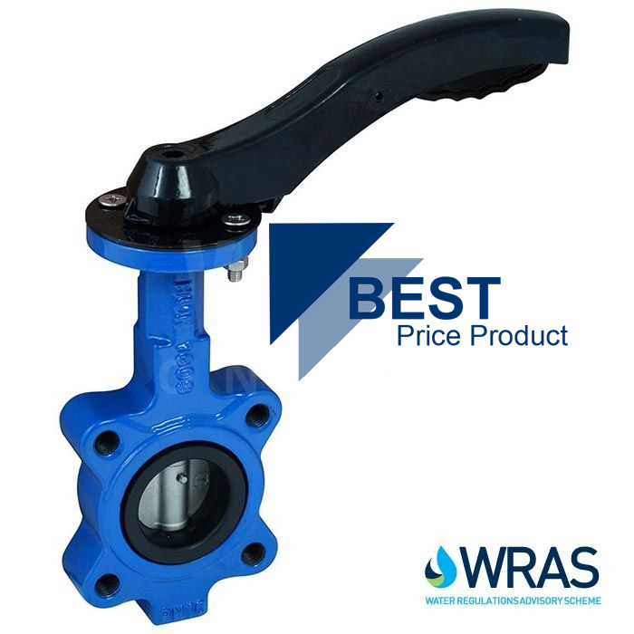 Economy WRAS Approved Lugged PN16 Butterfly Valve
