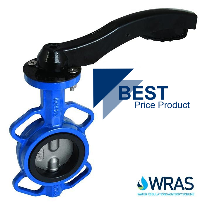 Economy WRAS Approved Wafer Butterfly Valve