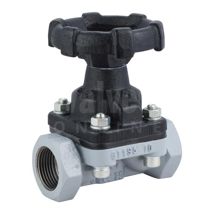 GEMÜ 675 Diaphragm Valve Screwed BSP