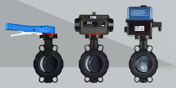 New PVC Butterfly Valves