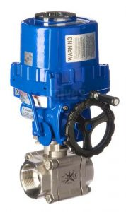 Electric V Sector Ball Control Valve
