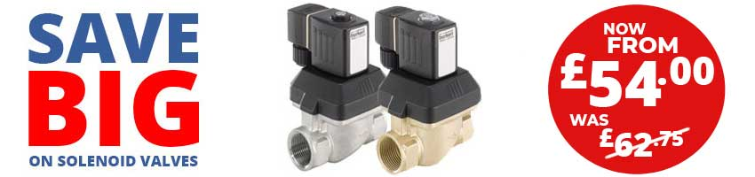 Savings on Solenoid Valves