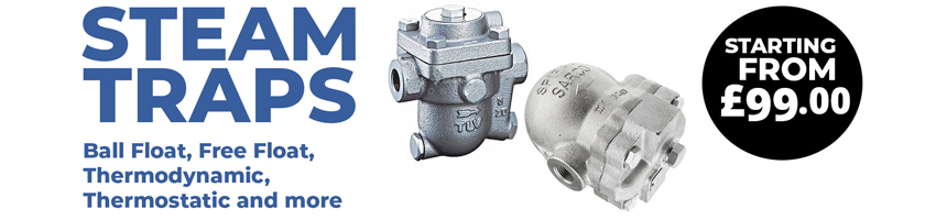 Steam Traps - Float, Thermodynamic, Thermostatic Traps