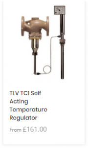 TLV Self Acting Control Valve