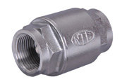 Barrel Spring Check Valve