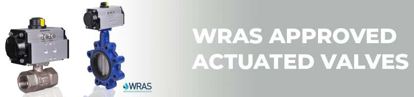 Actuated WRAS Approved Valves